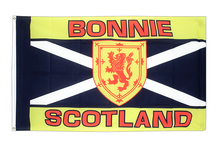 Cheap Flag Scotland Bonnie Scotland - 2x3 ft