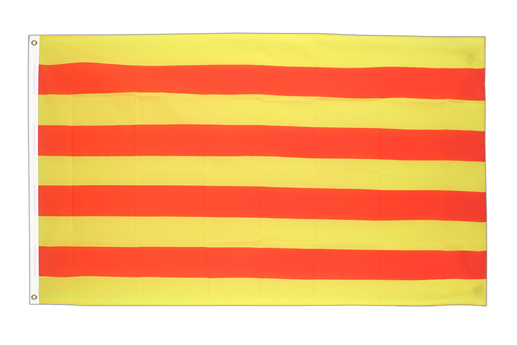 Cheap Flag Catalonia - 2x3 ft