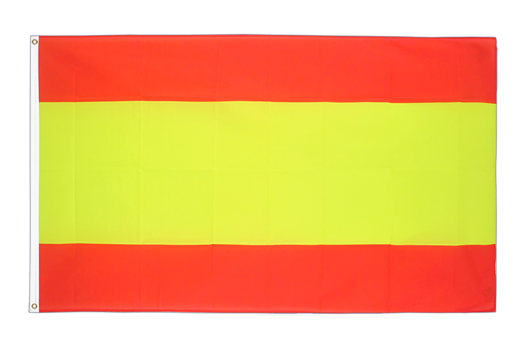 Cheap Flag Spain without crest - 2x3 ft