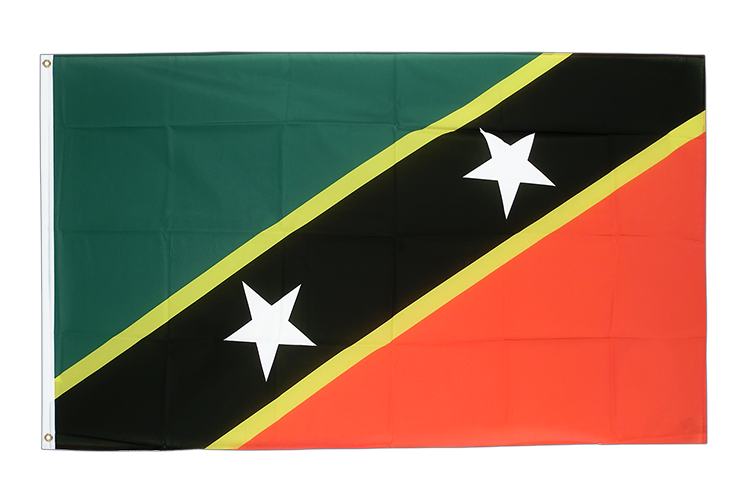 Cheap Flag Saint Kitts and Nevis - 2x3 ft