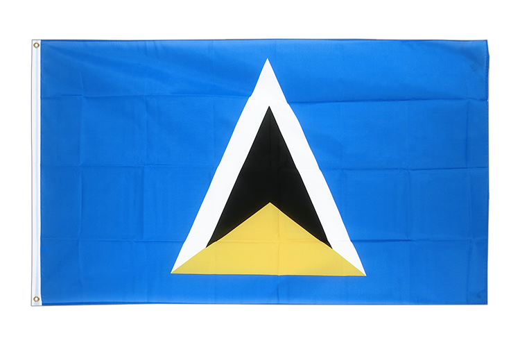 Cheap Flag Saint Lucia - 2x3 ft