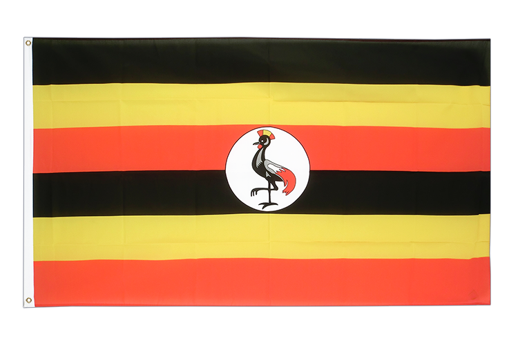 Cheap Flag Uganda - 2x3 ft
