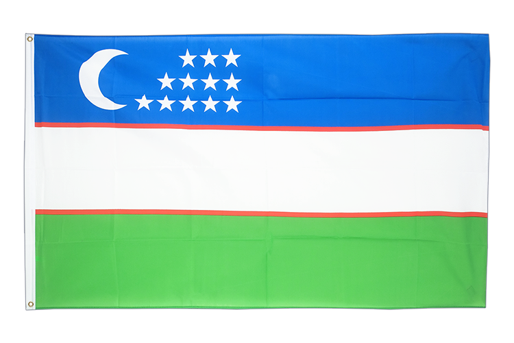 Cheap Flag Uzbekistan - 2x3 ft