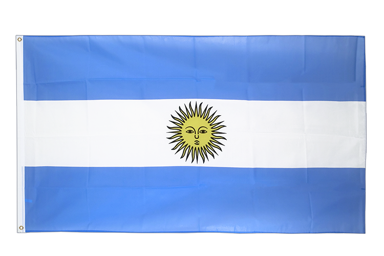 Large Flag Argentina - 5x8 ft