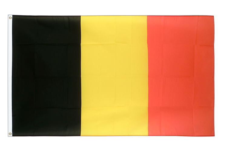 Large Flag Belgium - 5x8 ft (big and giant)