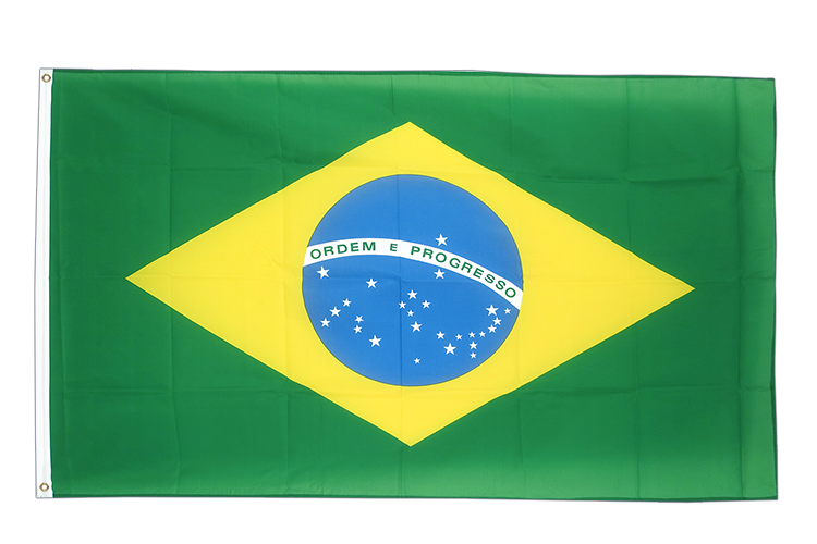Large Flag Brazil - 5x8 ft