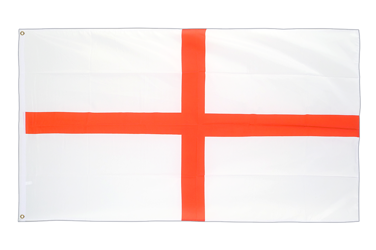 Large Flag England St. George - 5x8 ft (big and giant)