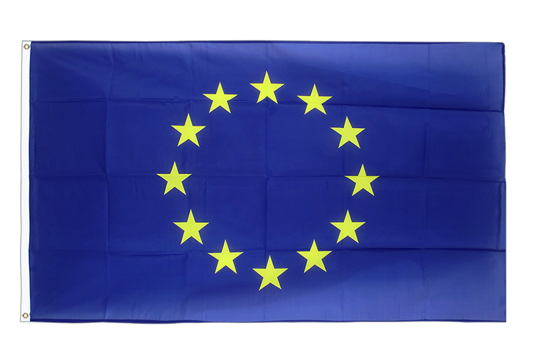 Large European Union EU Flag 5x8 ft (big and giant)