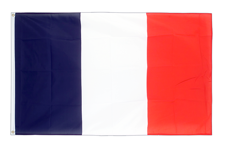 Large Flag France - 5x8 ft (big and giant)