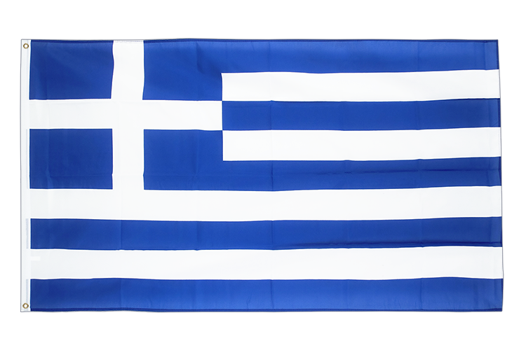 Large Flag Greece - 5x8 ft (big and giant)