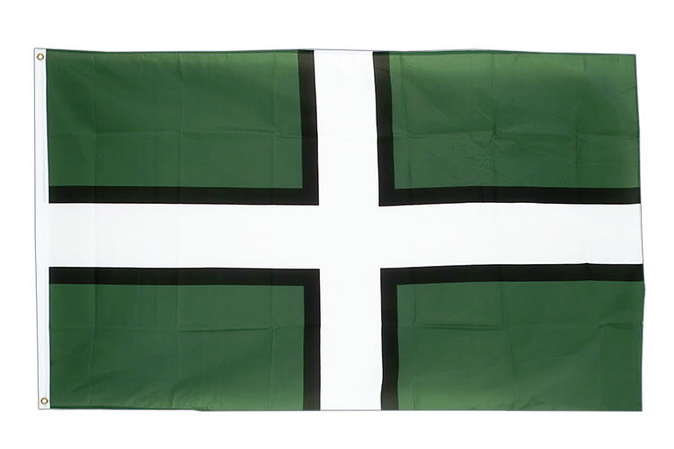 Large Flag Devon - 5x8 ft (big and giant)
