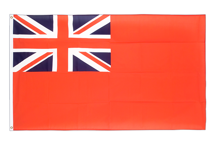 Large Red Ensign Flag - 5x8 ft