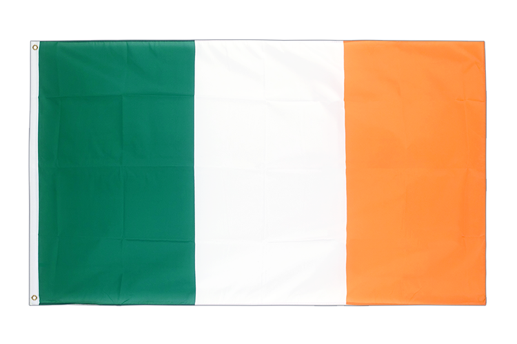 Large Flag Ireland - 5x8 ft (big and giant)