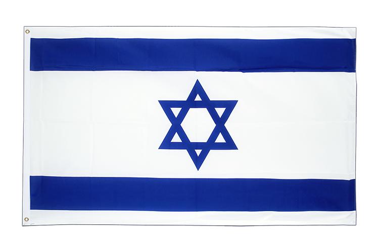 Large Flag Israel - 5x8 ft (big and giant)