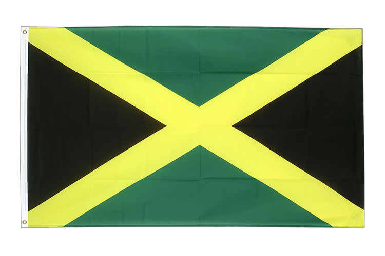 Large Flag Jamaica - 5x8 ft