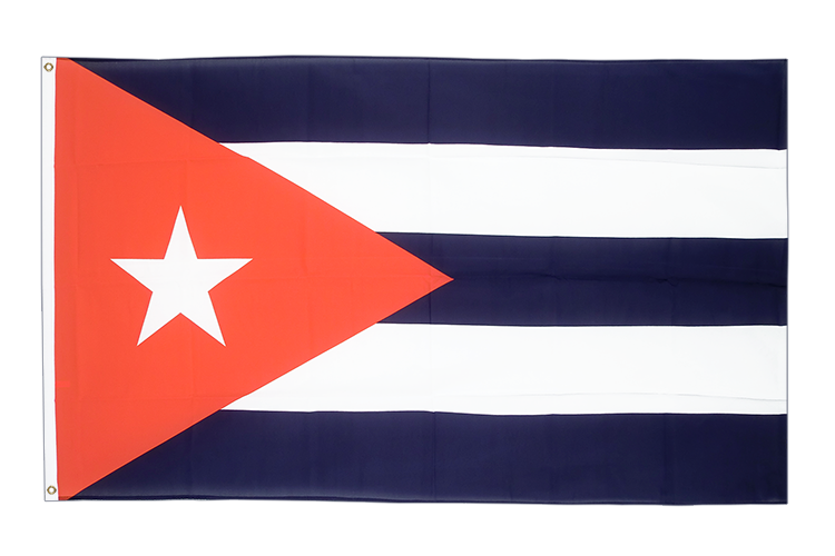Large Flag Cuba - 5x8 ft (big and giant)