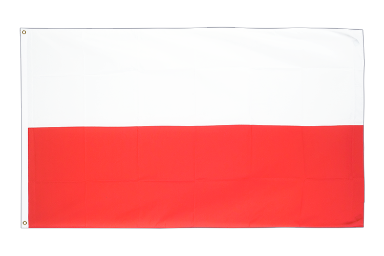 Large Flag Poland - 5x8 ft