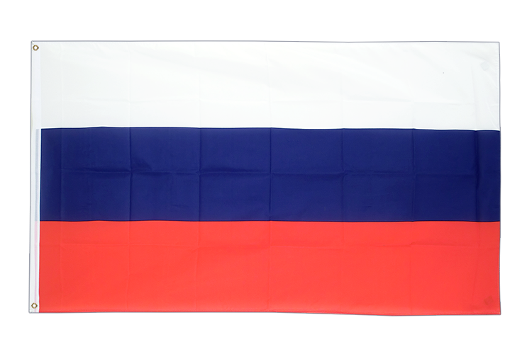 Large Flag Russia - 5x8 ft