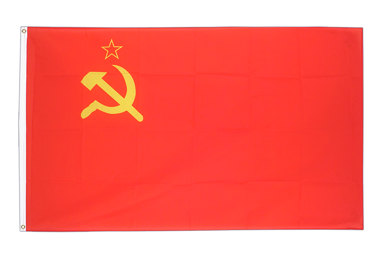 Large USSR Soviet Union Flag 5x8 ft (big and giant)