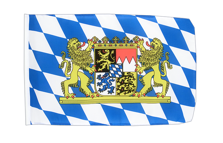Small Flag Bavaria lion - 12x18""