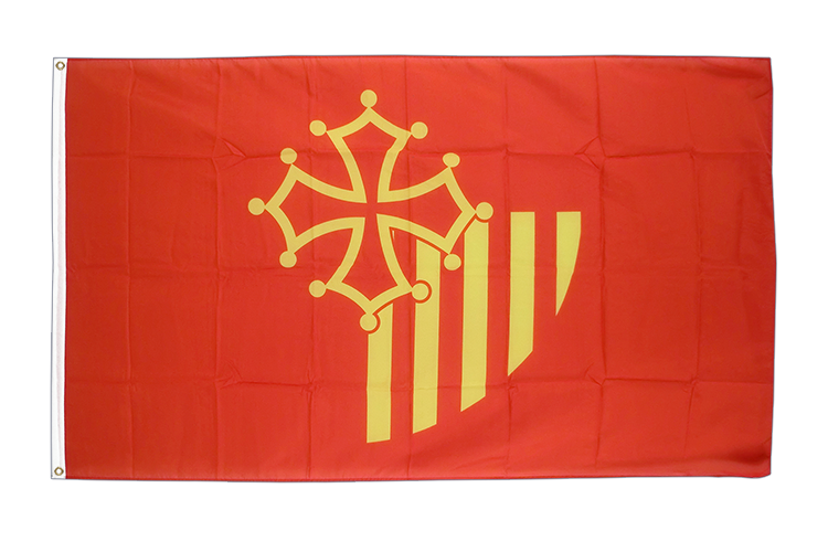 Languedoc-Rousillon - 3x5 ft Flag