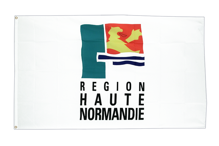 Flag Upper Normandy Region - 3x5 ft