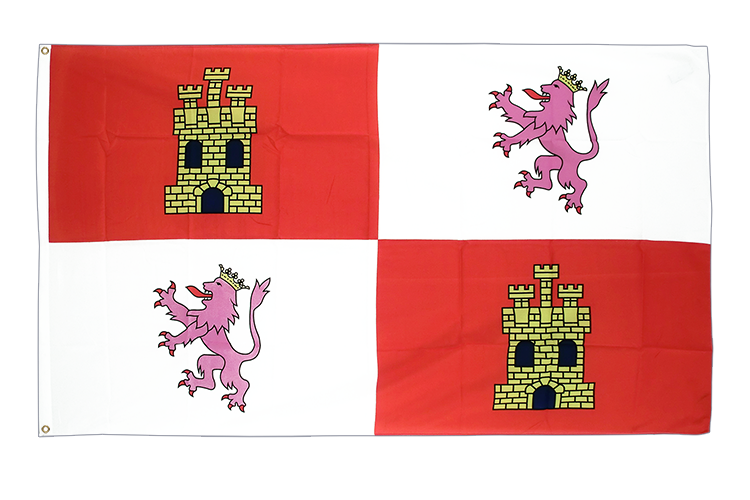 Flag Castile and León - 3x5 ft
