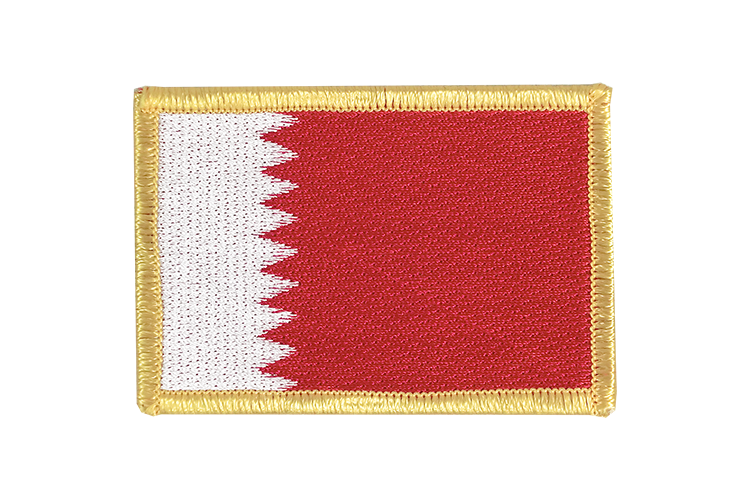Bahrain Flag Patch