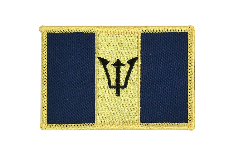 Barbados Flag Patch