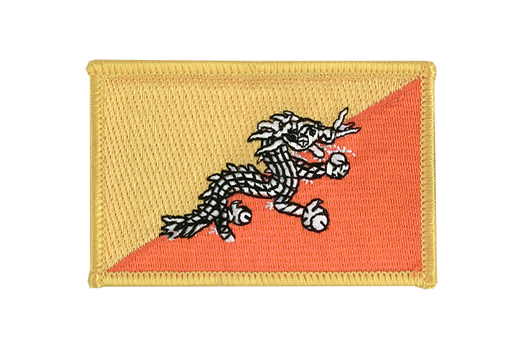 Bhutan Flag Patch