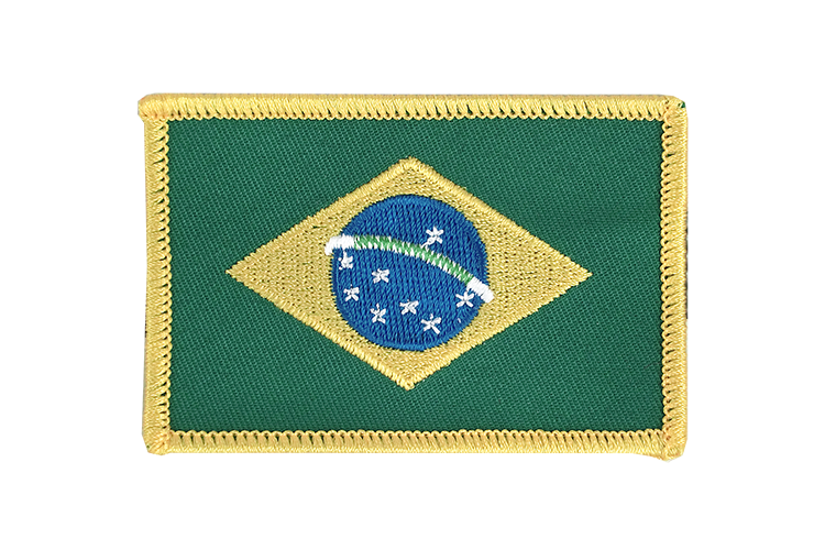 Flag Patch Brazil