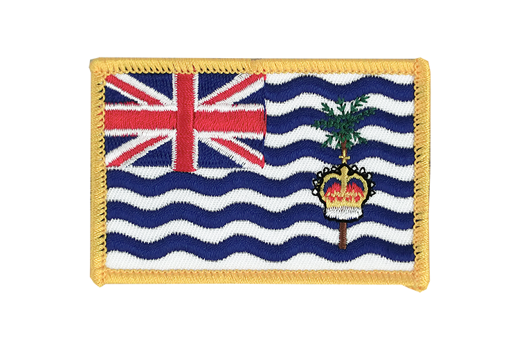 British Indian Ocean Territory Flag Patch