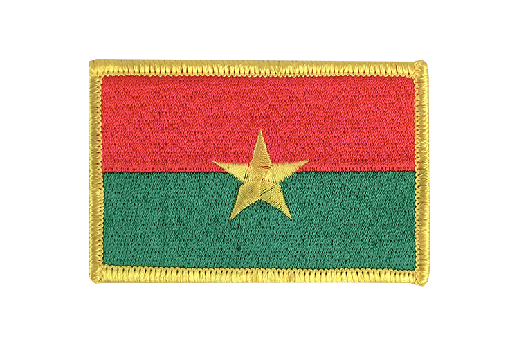 Flag Patch Burkina Faso
