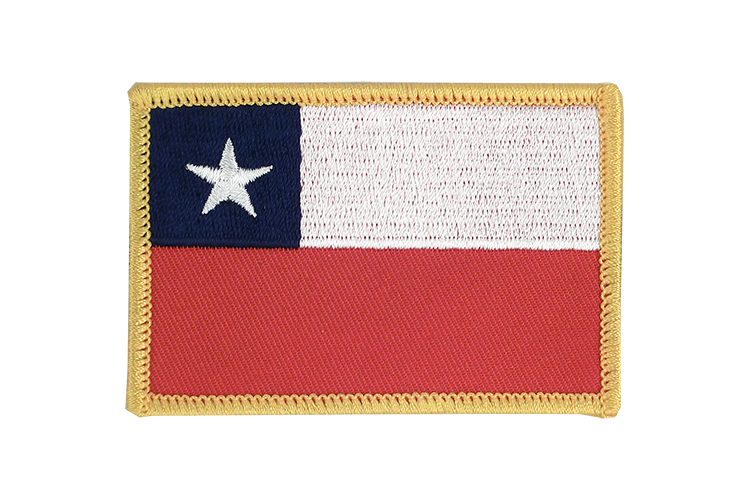 Flag Patch Chile