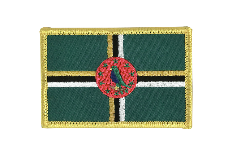 Dominica Flag Patch