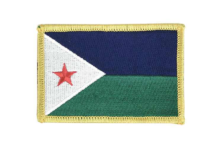 Flag Patch Djibouti