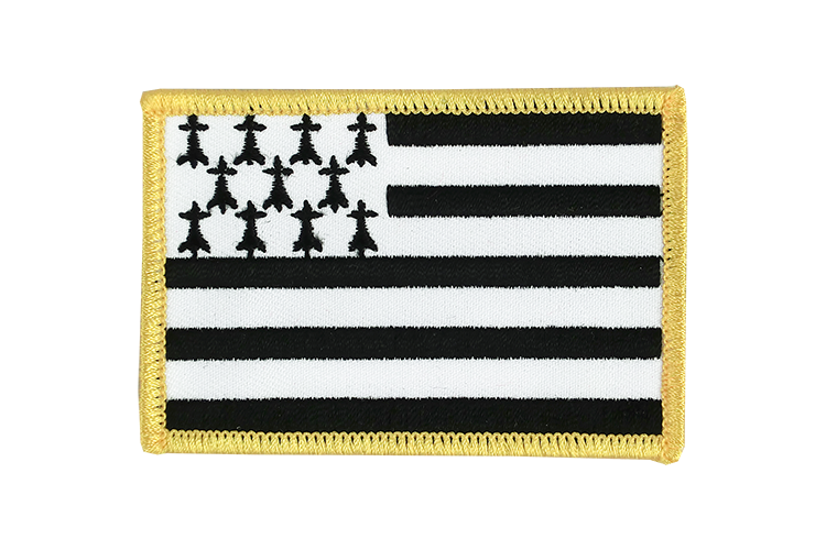 Brittany Flag Patch