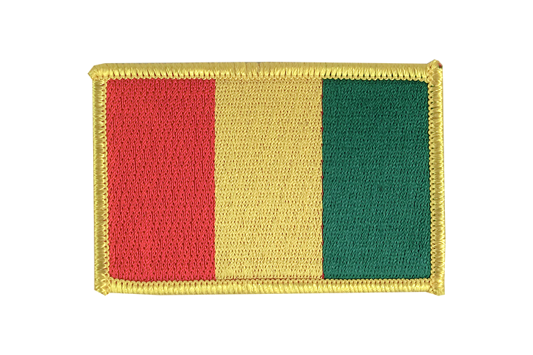 Flag Patch Guinea
