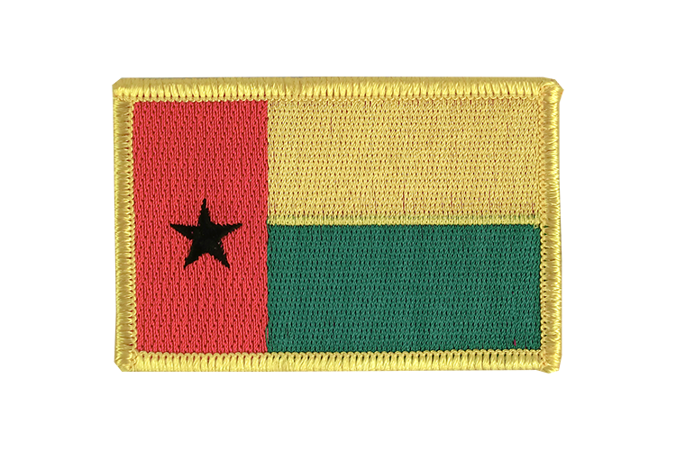 Guinea-Bissau Flag Patch