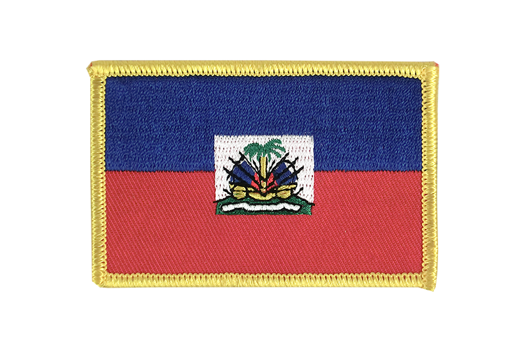 Flag Patch Haiti