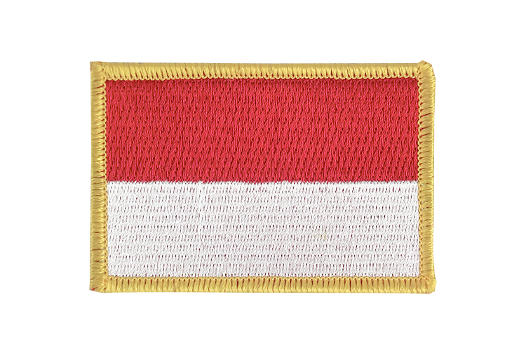 Indonesia Flag Patch