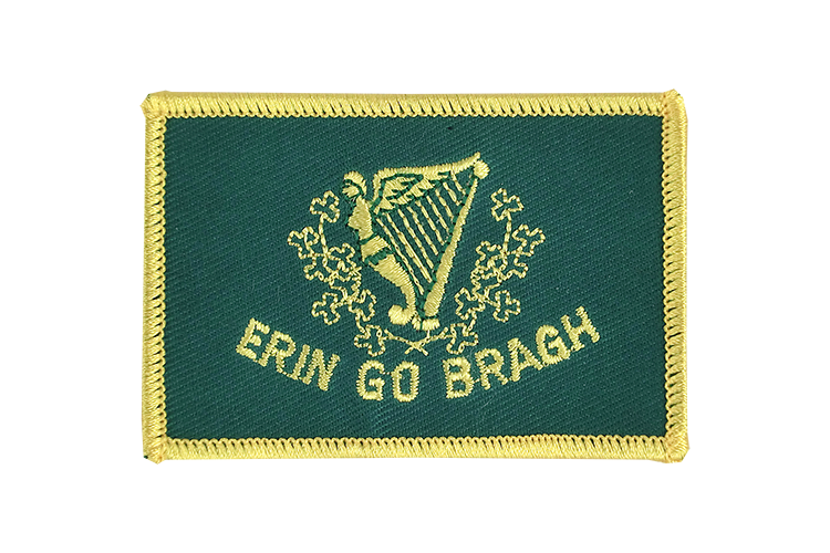 Flag Patch Erin Go Bragh