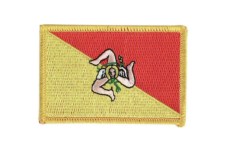 Flag Patch Italy Sicily
