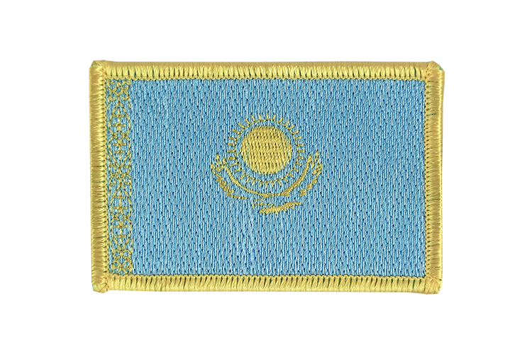 Kazakhstan Flag Patch