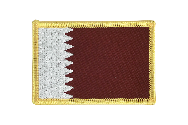 Qatar Flag Patch