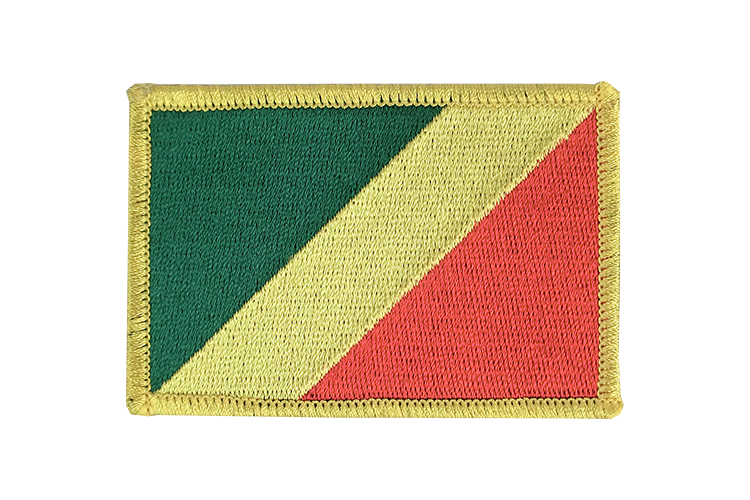 Flag Patch Congo