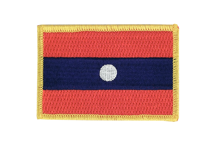 Flag Patch Laos