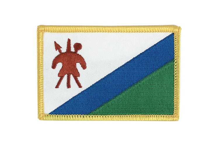 Flag Patch Lesotho old
