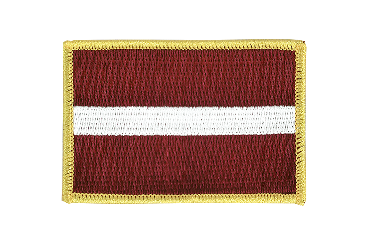 Latvia Flag Patch