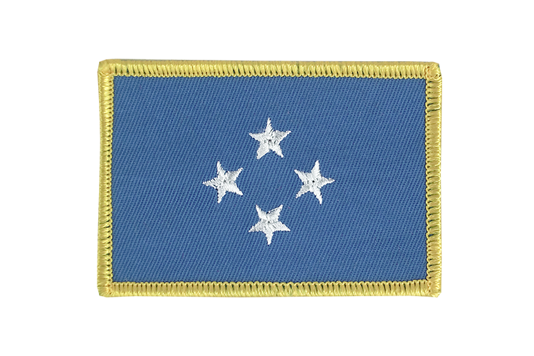 Flag Patch Micronesia